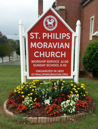 st philips sign 400